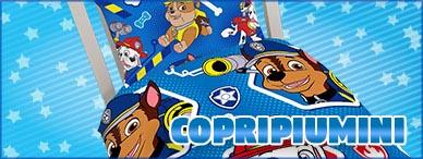 Copripiumino per bambini licenze Disney